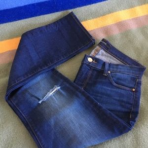 Like New J Brand Skinny Destroyed Jeans